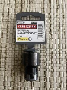 "CRAFTSMAN 3/8"" Drive 17mm Universal Max Axess Socket 9-31409"