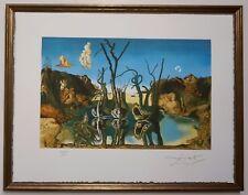 "Salvador Dali ""Swans reflecting elephants"" Lithograph Limited 2000 pcs."