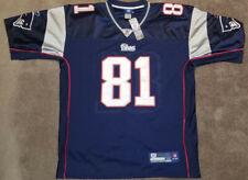 New w/ Tags Men's Reebok Randy Moss New England Patriots Home Jersey Size 52 XL