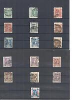 Marienwerder 1920, Michelnrn: 1 - 43 o, gestempelt o, Einzelmarken zur Auswahl