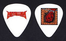 Metallica St. Anger Fist White Guitar Pick #2 - 2004 Tour