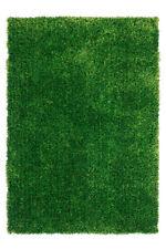 Tappeti in poliestere verde a pelo lungo per la casa