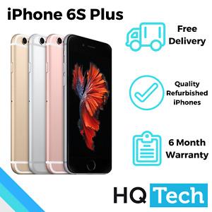 Apple iPhone 6S Plus 16GB 32GB 64GB Grey Silver Rose Gold Refurbished Smartphone