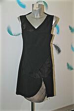 robe noire multi superposée M&F GIRBAUD taille 40 fr 44i 38d  NEUVE ÉTIQUETTE