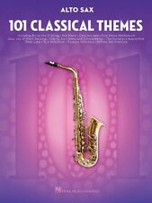 101 Classical Themes for Alto Sax Instrumental Solo Book NEW 000155318