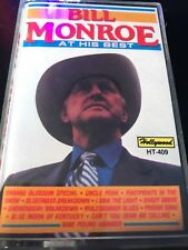 Bill Monroe At His Best (Bluegrass Music Cassette)