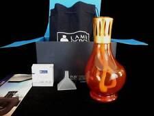 NIB Lampe Berger Amber Red Iridescent Brushed Copper Catalytic Fragrance Burner