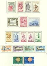 ITALY 1950'S-1960'S MINT HINGED AND USED SELECTION AS SHOWN