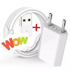 🌟CHARGEUR IPHONE PRISE SECTEUR ET CABLE USB SE/5/6/7/8/X/XR/11/12PRO 🌟2M