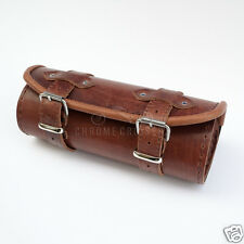 VICTORY HAMMER KINGPIN UNIQUE BROWN LEATHER TOOL ROLL / BAG / POUCH / GIFT