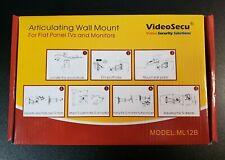 TV Wall Mount Bracket Monitor Stand Full Motion Swing LCD LED Flat Screen Holder