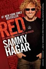 Red : My Uncensored Life in Rock by Sammy Hagar (2011, hardcover)