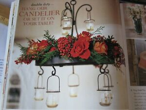 Southern Living at Home Old Taylor Estate Chandelier/Centerpiece 8 Votives NEW