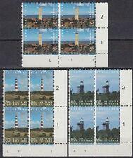 Niederlande 1994 ** Mi.1522/24 Bl/4 Bauwerke Leuchtturm lighthouse  [st2282]