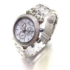 SARTEGO Women's Diamond Collection Chronograph SWISS MADE Watch SDWT385S