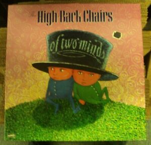 HIGH-BACK CHAIRS Of Two Minds LP OOP early-90's indie-rock Dischord Minor Threat
