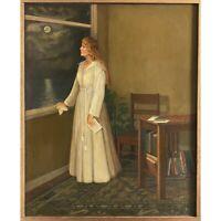 Eva Martino (American, b. 1929) - Oil on Canvas/Folk Art