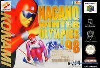 N64 Nagano Winter Olympics 98  / Zustand auswählbar