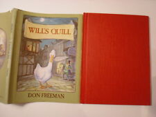 Will's Quill, Don Freeman, DJ, 1st Edition, 1975