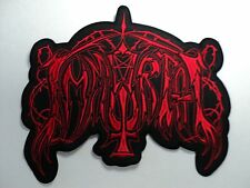 IMMORTAL     EMBROIDERED BACK PATCH
