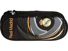 TREA132: official Real Madrid CF pen box 2016! - black RM fan pencil case
