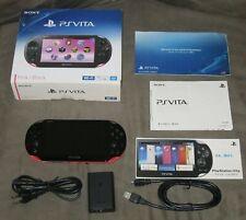 Sony Ps Vita Pch 2000 粉红色控制台 Ebay