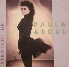 "Paula Abdul(7"" Vinyl P/S)Straight Up-Siren-SRN 111-UK-1989-Ex/Ex"