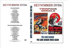 Cliffhanger Serials - THE LONE RANGER / THE LONE RANGER RIDES AGAIN  - Twin Pack