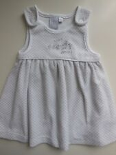 'JASPER CONRAN JUNIOR J' BABY GIRL VELOUR PINAFORE DRESS CLOTHES SZ 00 FIT3-6M