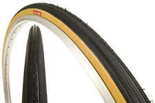"TWO KENDA K35 GUMWALL 27x1-1/4"" ROAD BIKE BICYCLE TIRES NEW"