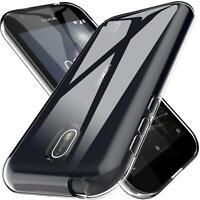 Handy Case für Nokia 1 Hülle Transparent Schutz Tasche Handyhülle Cover