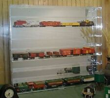 HO Train Display Case Holds 32 New in Box Made in USA