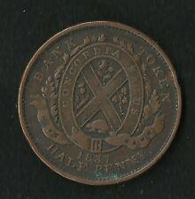 Canada : Un Sou 1837 Half Penny