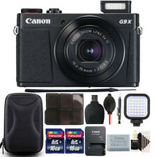Canon PowerShot G9 X Mark II 20.1MP Digital Camera with 32GB Accessory Bundle