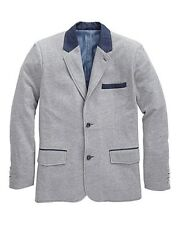 "Hamnett Gold Kensington Gris Chaqueta Uk Size 4xl (60-62"") 15 Carril ref 13"