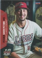 2016 Great Lakes Loons Gavin Pittore RC Rookie Dodgers Minor League