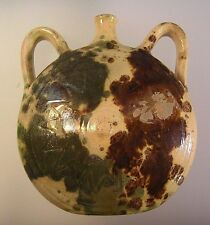 Antique Redware Yelloware Pottery Pennsylvania Shenandoah Valley Brown Green