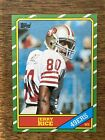 1986 Topps Jerry Rice Rookie Card #161 Mint Condition