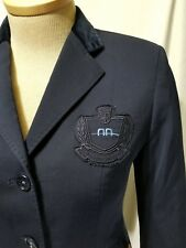 Alessandro Albanese Women Show Coat Equestrian Jacket Size 40 Italy 3 Buttons