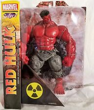 "Marvel Select Red Hulk 8"" Diamond Toys Special Collector Action Figure"