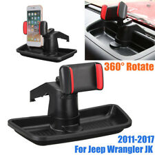 360° Rotate Mobile Cell Phone Holder Storage Box For Jeep Wrangler JK 2011-2017