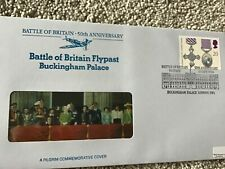 SPECIAL PILGRIM FIRST DAY COVER BATTLE OF BRITAIN  BUCKINGHAM PALACE POSTMARK