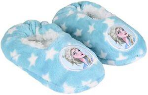 Pantofole Frozen bimba calde bambina pelliccia Disney Anna & Elsa antiscivolo