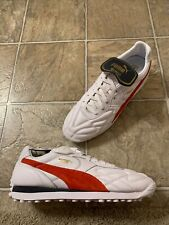 Puma King Avanti (Legends Pack) Sneakers Men's Size 11 White/ Red 366618-04