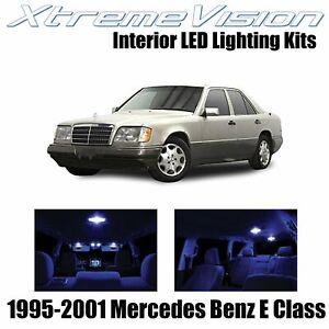 XtremeVision Interior LED for Mercedes E Class 1995-2001 (14 PCS) Blue