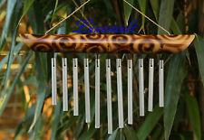 Feng Shui Klangspiel-Windspiel-Klangharfe-Bambus-Alu 4