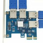PCIE 1 TO 4 PCI Express Slots Riser Card Mini ITX To External 4 PCI-E Slot Adapt