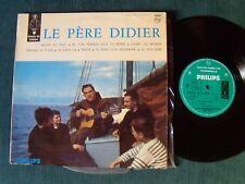 """LE PERE DIDIER : Rouge ou bleu - 25 cm 10"""" LP PHILIPS B 76.575 R CHARLES RAVIER"""
