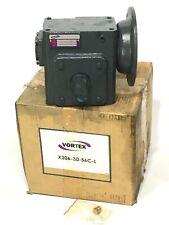 Vortex Right Angle Worm Gear Speed Reducer X206 30 56c L