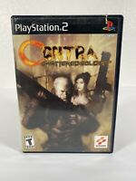 Contra: Shattered Soldier PS2 USA (Sony PlayStation 2, 2002) Complete Same Day S